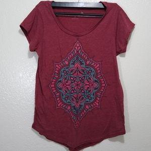 Lucky Brand women's t shirt boho medium